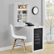 Encasa Wandtisch Weiß Schreibtisch Tisch Regal Wand Klapptisch