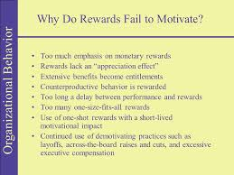 organizational behavior chapter seven rewarding organizational  14 organizational behavior why