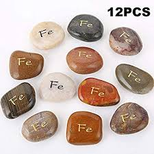 12pcs fe rockimpact spanish espaÑol fe engraved inspirational stones religious gifts protection decorative garden patio faith