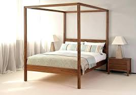Post Bed Frame Mahogany Bed Frame 4 Post Bed 4 Poster Mahogany 4 ...