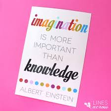Albert Einstein Quotes Creativity More Important Than Knowledge