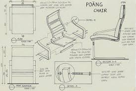 chair design drawing. Design: Assembly Drawing: POANG Chair By IKEA Design Drawing I