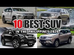 10 best suvs in the philippines 2020