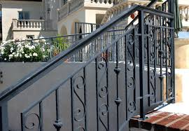 wrought iron railings for stairs outside image of outdoor stair railing wrought iron wrought iron stair wrought iron railings for stairs outside