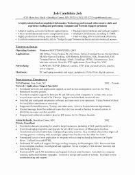 desktop resume desktop support technician cover letter luxury cool network support
