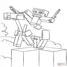 Minecraft Kleurplaat Printen Regarding Pijl En Boog Minecraft