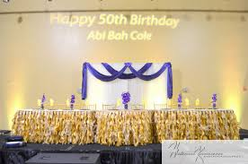 Abi Cole's 50th Birthday Party Celebration