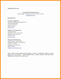 Resume Reference Page Template Fresh Listing References Resume And