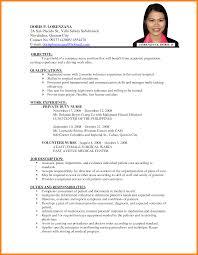 Sample Resume For Nurses With Experience In The Philippines Sample Resume Of Nurses In the Philippines Danayaus 1