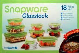 snapware glasslock bowls