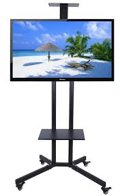 Flat Screen Display Stand 100 100 inch LCD LED Plasma TV Mount Floor Display Stand Carts 73