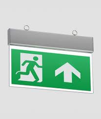 Exterior Illuminated Exit Signs