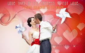 valentine s day wallpaper of love and madness