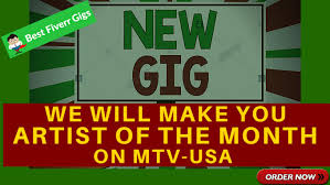 Make You Artist Of The Month On Mtv Usa