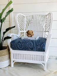rattan furniture makeover rattan chair