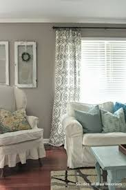 pictures of living room curtains. no-sew tutorial: lined curtains - shades of blue interiors pictures living room i