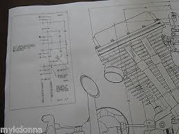 harley panhead technical drawing set engine blueprint flh davidson harley panhead technical drawing set engine blueprint flh davidson print vtg 9