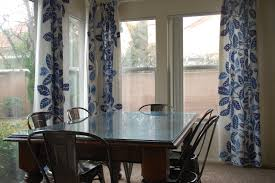 Home Design   Extraordinary Dining Room Curtain Ideass - Modern dining room curtains