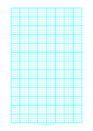 5mm Graph Paper Printable Graph Paper With One Line Every 5 Mm And Heavy