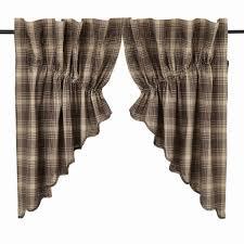 Primitive Curtains For Kitchen Prairie Swag Curtains Primitive Star Quilt Shop