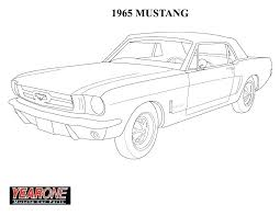 Mustang Coloring Pictures Ebrokerageinfo