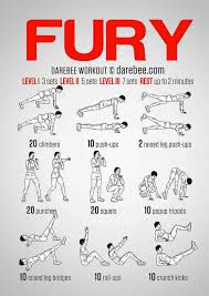 fury road bodyweight workout