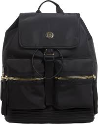 tommy hilfiger small textile women s backpack