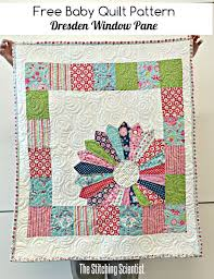 Best 25+ Free baby quilt patterns ideas on Pinterest   Simple baby ... & Free Baby Quilt Pattern: Dresden Window Pane featuring Flutterberry fabric  designed by Melly & Me Adamdwight.com