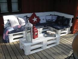 Outdoor Furniture Made From Pallets White Perfect Outdoor