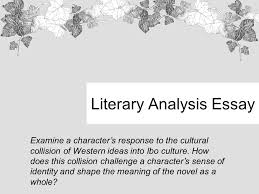 do you have your homework packet ppt video online  literary analysis essay