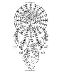 Books About Dream Catchers Amazon Dream Catcher Coloring Book An Adult Coloring Book of 24