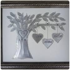 family tree tin anniversary gift
