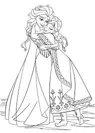 Anna E Elsa Disegni Da Colorare Gratis Disegni Da Colorare E