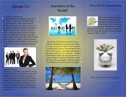 How To Make Travel Brochure Make A Travel Brochure Template Lovely Making A Travel Brochure