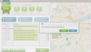 Trip Planner Excel Excel Add In For Planning Routes Myrouteonline