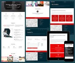 Free Responsive Website Templates Fascinating Free Template Web Responsive Codebluesolutions