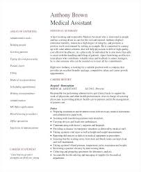 Administrative Medical Assistant Resume Template For Senior Medical ...