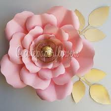 Homemade Paper Flower Decorations Pdf Paper Flower Template No 7 Paper Flower Diy Paper Flowers