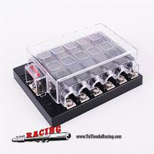 12 way dc 32v circuit car fuse box set boat auto tutiendaracing 12 way dc 32v circuit car fuse box set boat automotive auto blade fuse holder block