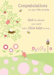 Congratulations On Your New Miracle Religious Babyshower