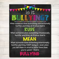 Image result for is it bullying poster