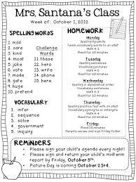 Weekly Homework Weekly Homework Freebie Classroom Newsletter Classroom