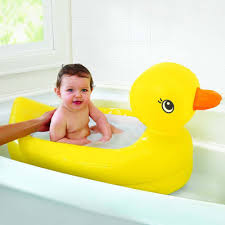 <b>Foldable Baby Cartoon Cute</b> Yellow Duck Design Folding Bath ...