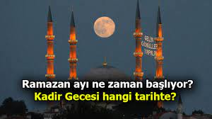Ramazan ne zaman başlıyor? 2021 Ramazan ayı, bayramı, Kadir gecesi tarihleri  - Son Dakika Haberler Milliyet