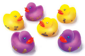 Light Up Rubber Duck Amazon Com Easter Decorations Light Up 6 Pack Easter Rubber