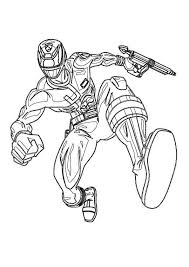 Printable Power Rangers Coloring Pages For Boys Get Coloring Page
