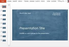 Student Scientific Report Powerpoint Template