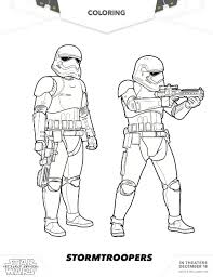 Free Star Wars Coloring Stormtroopers Mommy Mafia