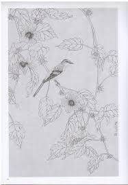 禽鳥写生一 唯美白描精選 中国語絵画 下絵 大人の塗り絵 唯美白描精选 禽鸟写生一 新華書城