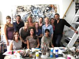 beginners art class london